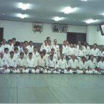 1-Treino da equipe na Shodokan Honbu Dojo