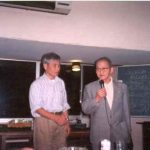 3-Tada Sensei e Wazaki Shihan, aluno e mestre