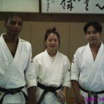 4-Treino na Universidade de Waseda, 2005
