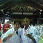 Jo Tada e Sergio Lima – Medalha de Bronze
