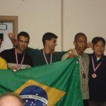 Entrega da Medalha de Bronze