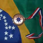 Medalha de Bronze para o Brasil