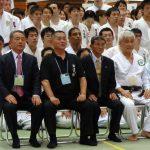 Foto das autoridades do Shodokan Aikido no Mundo
