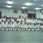 Treino na Shodokan Honbu Dojo
